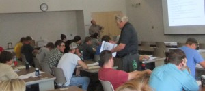 On Sept. 24, 2014, the Co-ops 101 program was presented to students at the NE College of Technical Agriculture-Curtis.